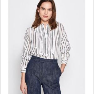 NWT Joie Morit pintucked blouse